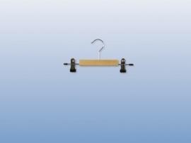Houten kinder knijphanger met anti- slip 50st Tus7305009