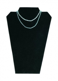 Collierpresentatie zwart fluweel Td15389401