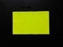 Etiket 26x16 rechthoek fluor geel semi-perm Td27173416
