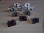 Bordje/tafelnummer RVS set 1-10 Td14243610