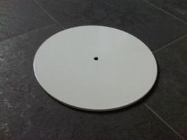 Voetplaat rond wit Td12020101