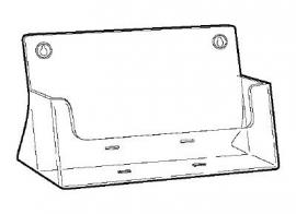 Folderbak A4 staand landscape Td99160024