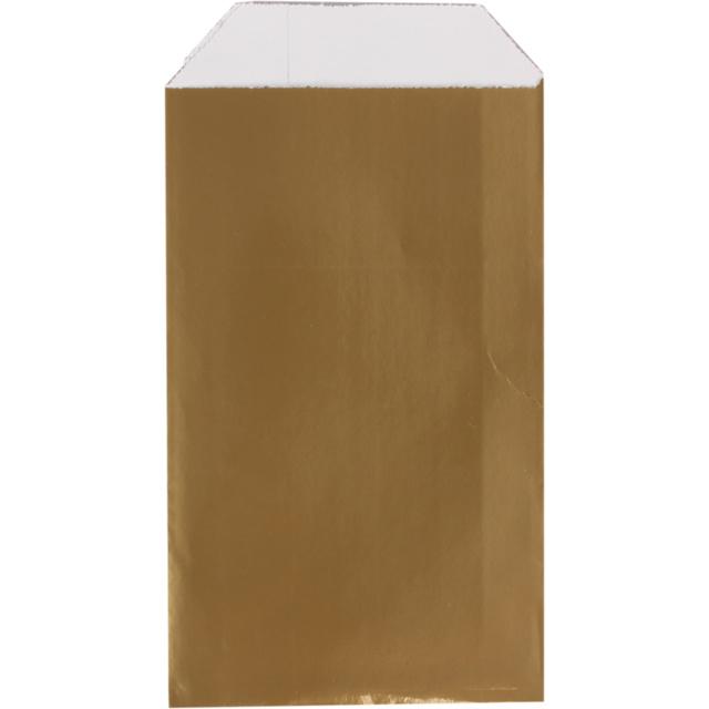 Cadeauzakje luxe goud 10x15cm 150st Tpk265332