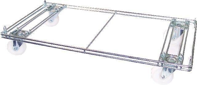 Verrijdbare mandenhouder 96cm Tms3627