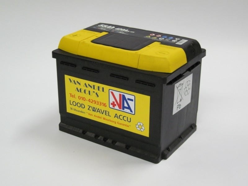 autoaccu 12 volt 55 Ah. type 55565