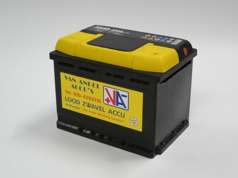 startaccu 12 volt 55 Ah. type 55559