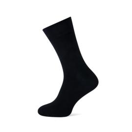 Basset herensokken - kleur zwart - maat 39 t/m  50