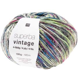 Vintage Socks 009 teal mix