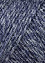 0258 blauw melange