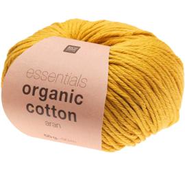 Organic Cotton 004 mosterd