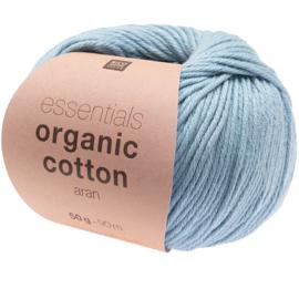 Organic Cotton 012 licht blauw