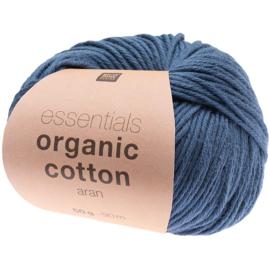 Organic Cotton 013 marine blauw