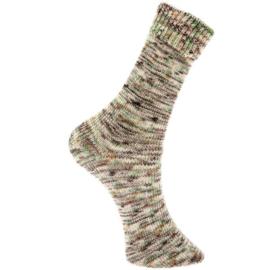 Vintage Socks 008 bruin/groen