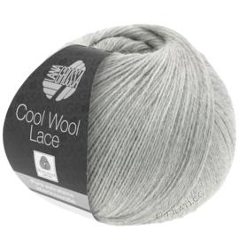 Cool Wool Lace 27 licht grijs
