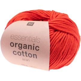 Organic Cotton 010 rood