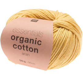 Organic Cotton 003 geel