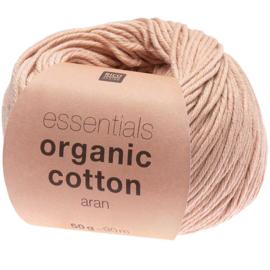Organic Cotton 005 poeder roze