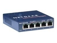 NETGEAR 5port 10/100 /1000Mbps Copper Gigabit Compact Switch Lifetime Warranty