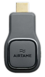 Airtame draadloos presenteren HDMI dongle
