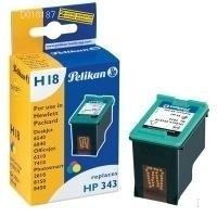 Pelikan C8766EE Inkt 343 kleur  voor de HP 7210  (351579)