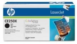 CE250X Zwarte toner voor de Laserjet CM3530/CP3525N