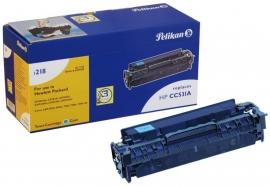 Pelikan CC531A Toner cyaan voor de HP Laserjet 2025/2320 (4207180)