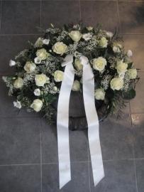 Rouwkrans no.5 ( Herdenkingen krans ) 60 cm