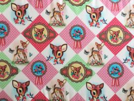 Boxkleed/ Speelkleed: We love Bambi! Hertjes