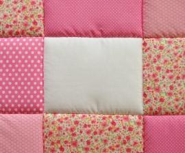 Boxkleed / Speelkleed: Lieve Bloemetjes Roze