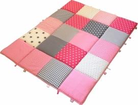 Speelkleed Roze Grijze Sterren