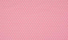 Stof Roze Madeliefjes lichtroze