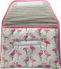 Verschoonmatje Flamingo's