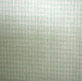 Ruitjes 2mm Mintgroen