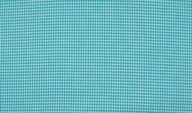 Ruitjes 2mm Aquablauw