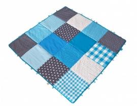 Speelkleed Sterren Blauw Grijs