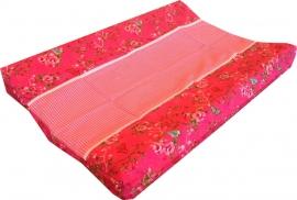 Aankleedkussenhoes Roze Vlinders