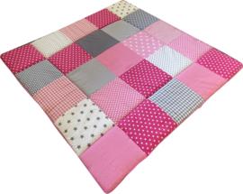 Speelkleed Sterren Roze Grijs