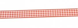 Ruitjes Oranje 15 mm