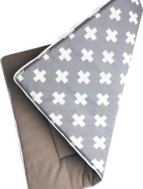 Boxkleed/ Speelkleed: Wafel Taupe