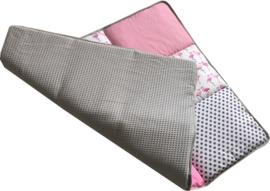 Boxkleed / Speelkleed: Flamingo's Roze