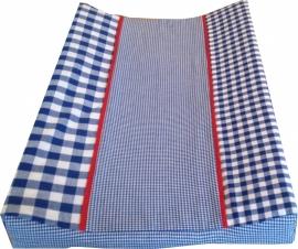 Aankleedkussenhoes Donkerblauw