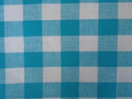 Tafelkleed Blauwe Ruitjes 2cm