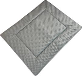 Boxkleed/ Speelkleed: Minky zeegroen 75 x 95 cm