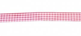 Ruitjes Roze 15 mm