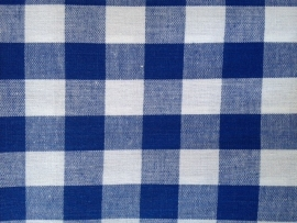 Tafelkleed Donkerblauwe Ruitjes 2 cm