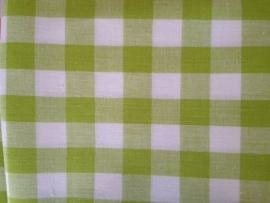 Tafelkleed Appelgroene Ruitjes 2 cm