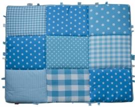 Boxkleed / Speelkleed: Blauwe Sterren