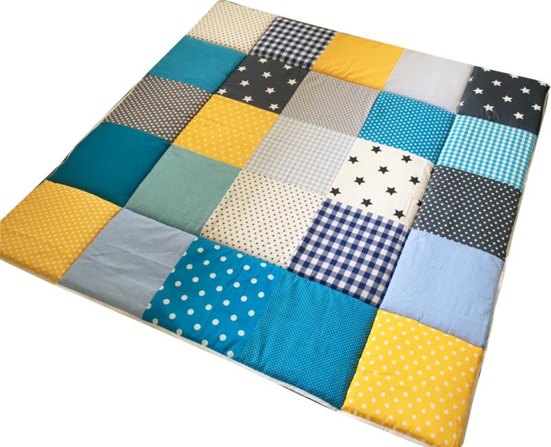 Speelkleed Stoer Geel Blauw Grijs