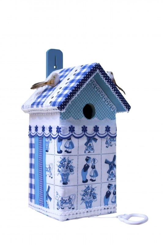 (Muziek) Vogelhuisje Delftsblauw! (nr. 29)