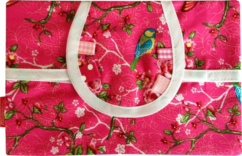 Billendoekjeszakje Roze vogels